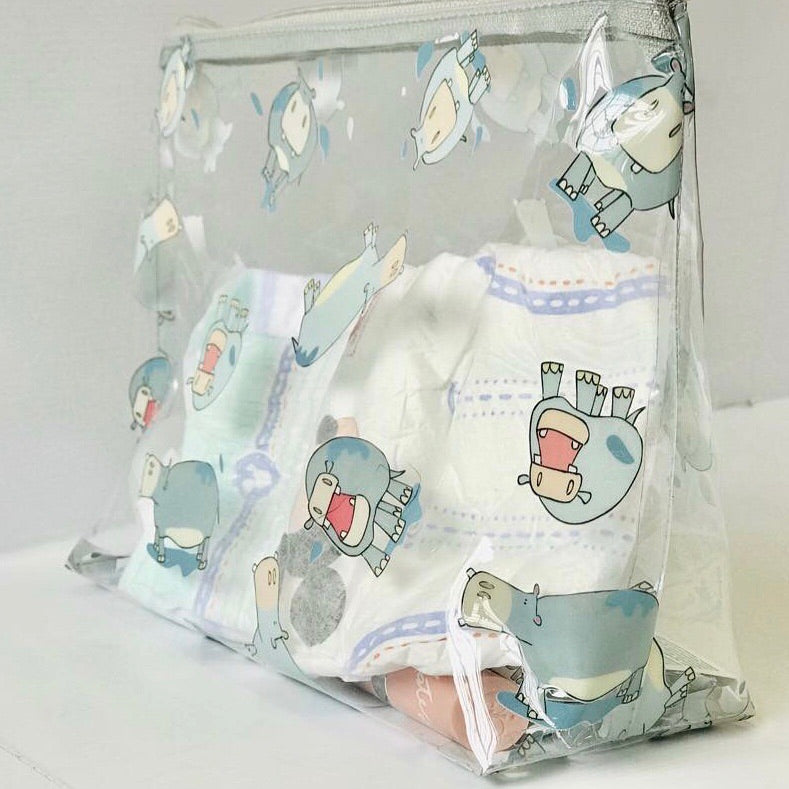 Clear zippy bag