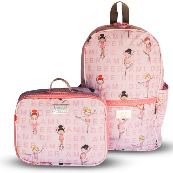 H&G chunky Backpack - Character & personalised Combo - Girls