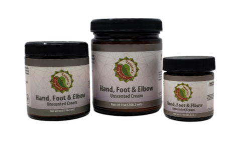 Hand, Foot & Elbow Cream $25-$80