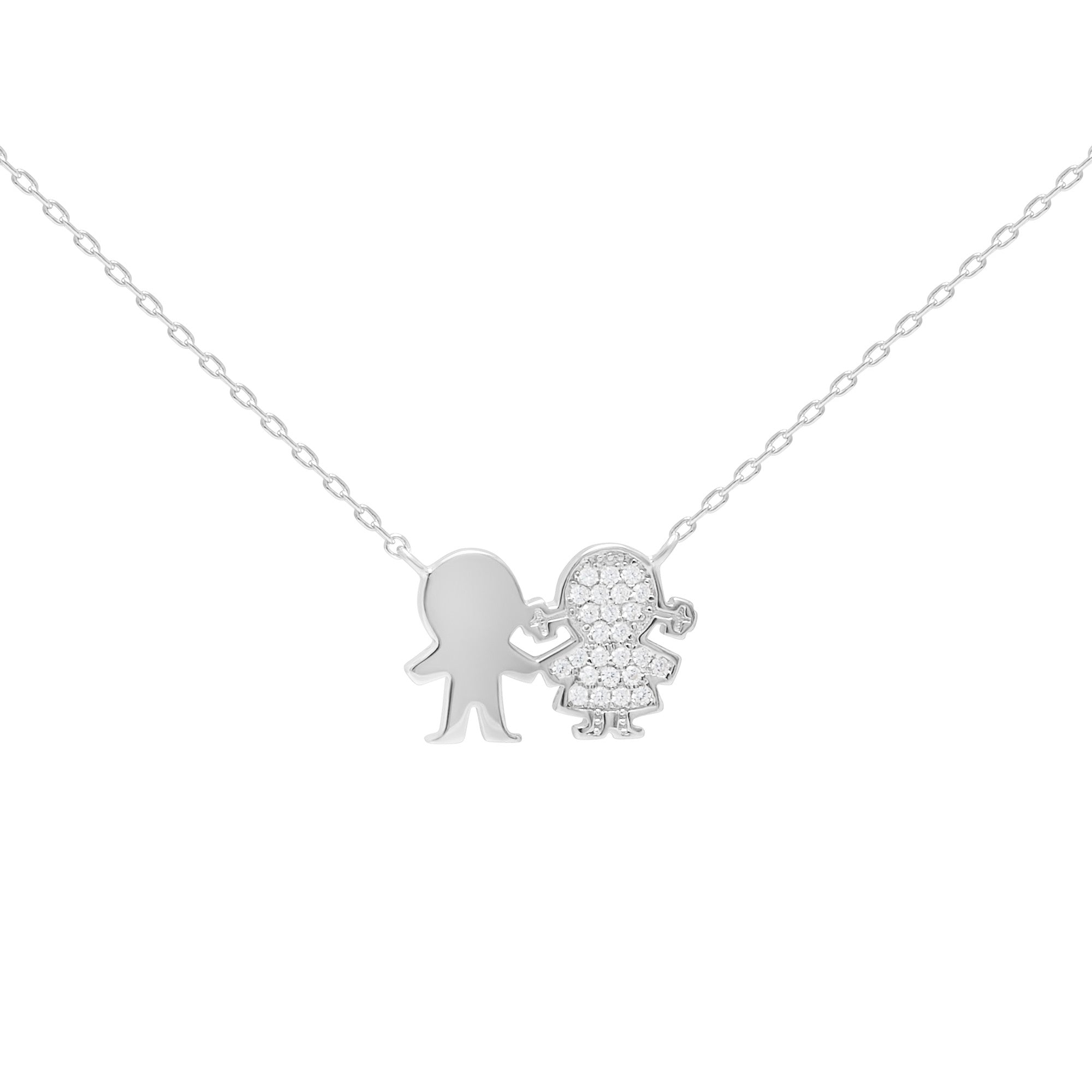 face products bunny play plated silver necklace spinningdaisy open boy