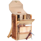 Corsica Insulated 2 Bottle Wine Basket