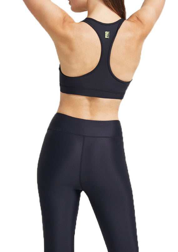 EMERGING SPORTS BRA - BLACK