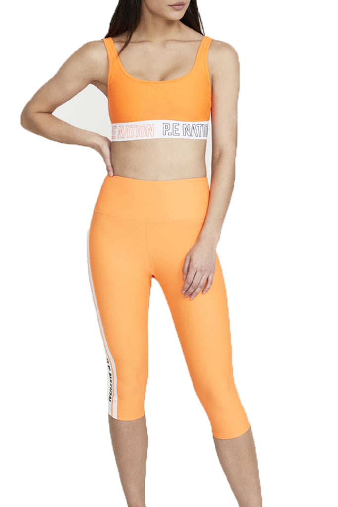 FULL STRENGTH LEGGING - BRIGHT ORANGE