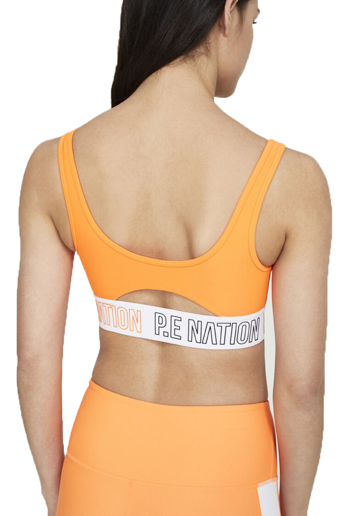 FULL STRENGTH SPORTS BRA - BRIGHT ORANGE