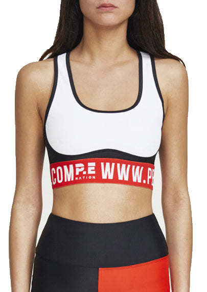 DOMAIN SPORTS BRA - WHITE