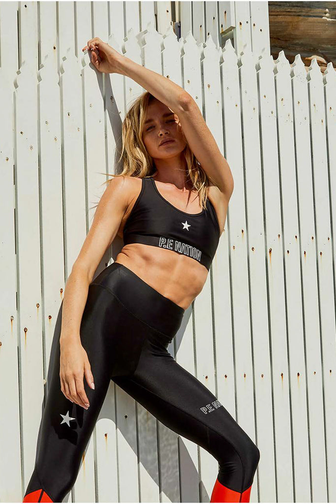 CIRCUIT RACER SPORTS BRA - BLACK