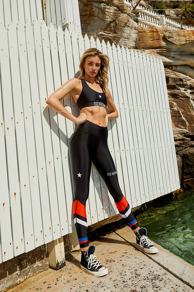 CIRCUIT RACER LEGGING - BLACK
