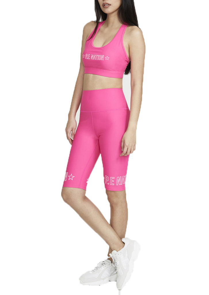 SWISH SPORTS BRA - BRIGHT PINK