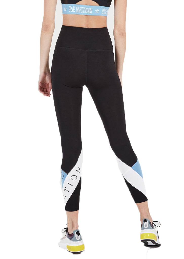 RACE RUNNER LEGGING - BLACK