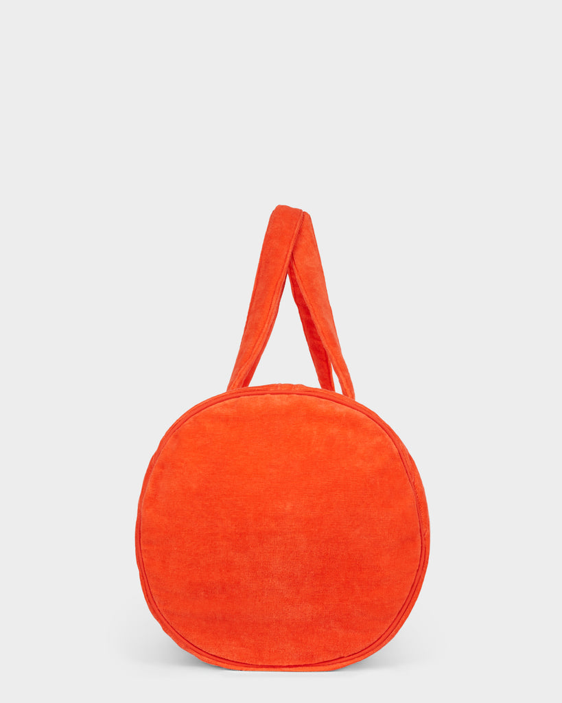 ITS NOW COOL x BILLABONG BEACH BAG - FIRE RED
