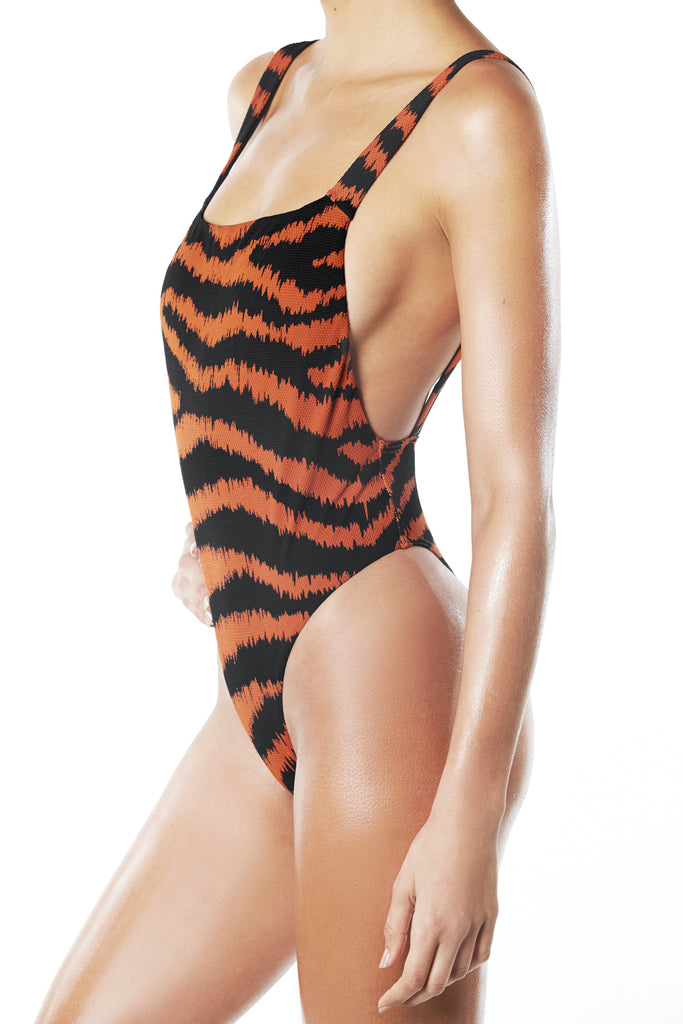 TIGRESS ONE PIECE - BLACK
