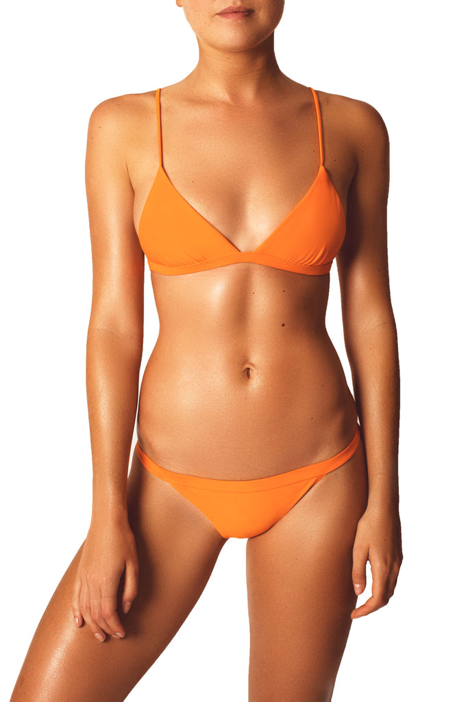 BASIC BRALETTE TOP - ORANGE