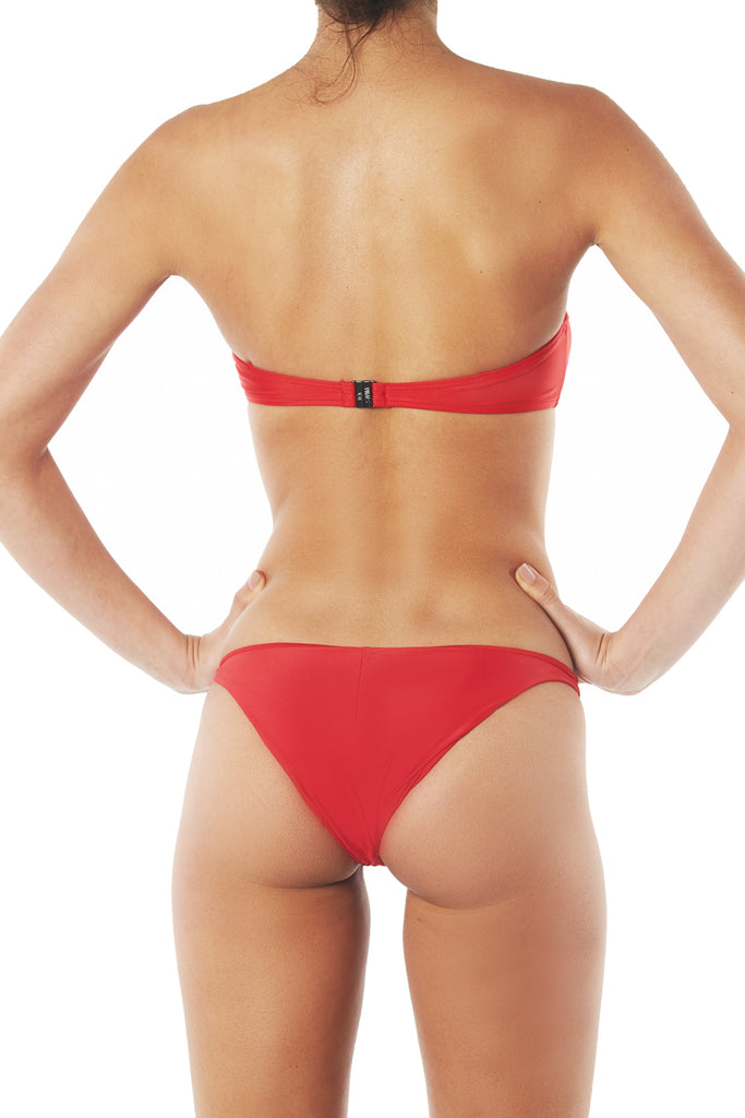 BASIC BANDEAU TOP - RED