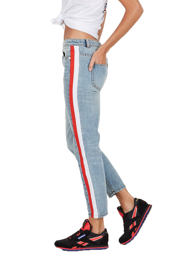 ALLEY OOP JEAN - BLUE DENIM