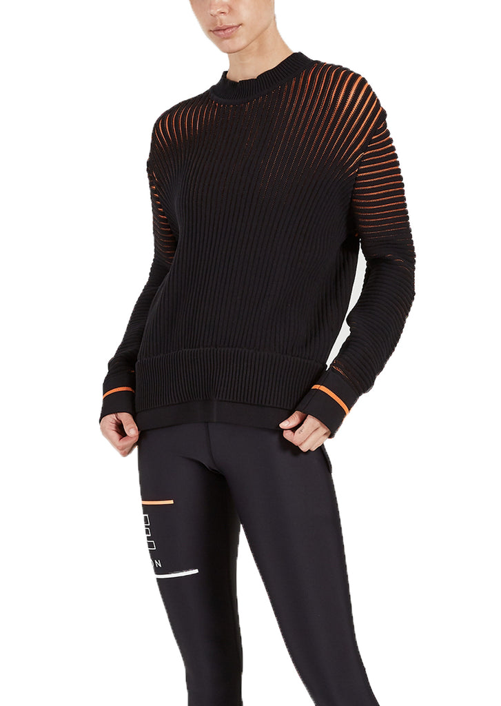 FOR THE GLORY KNIT - BLACK / ORANGE