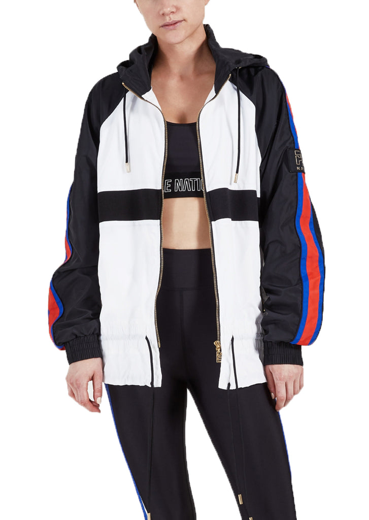 BLOCK OUT JACKET - WHITE