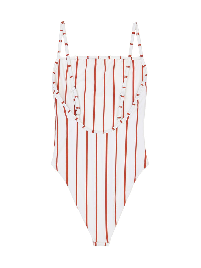 THE ONE PIECE - WHITE ADOBE STRIPE