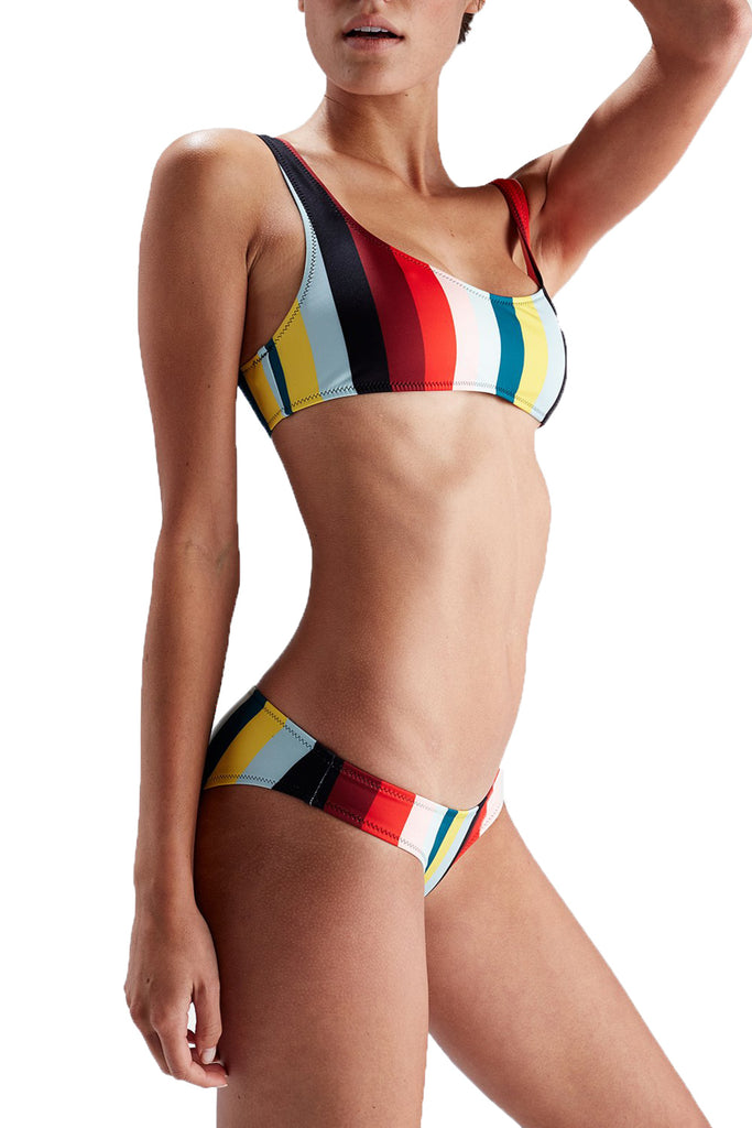 THE ELLE BOTTOM - PARADISE STRIPE