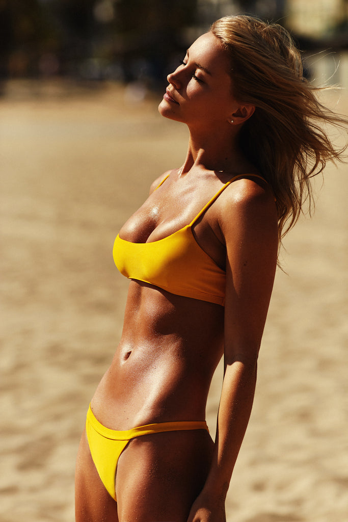 SKIMPY PANT - YELLOW