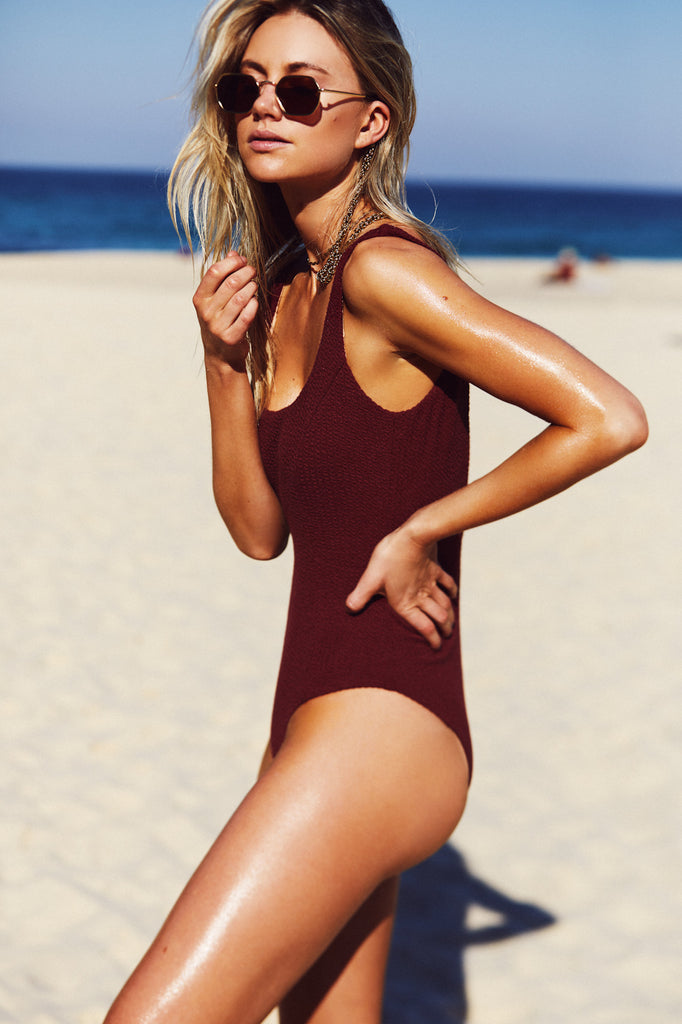 DESERT BERRY ONE PIECE - BERRY