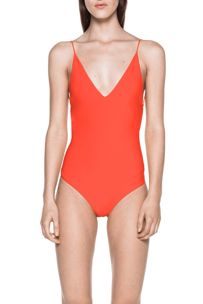 FINE LINE ONE PIECE - CORAL