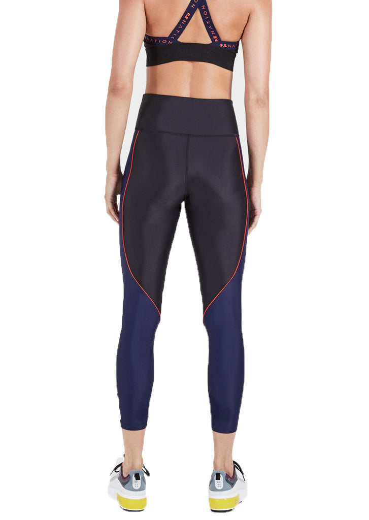 RALLY LEGGING - NAVY BLACK