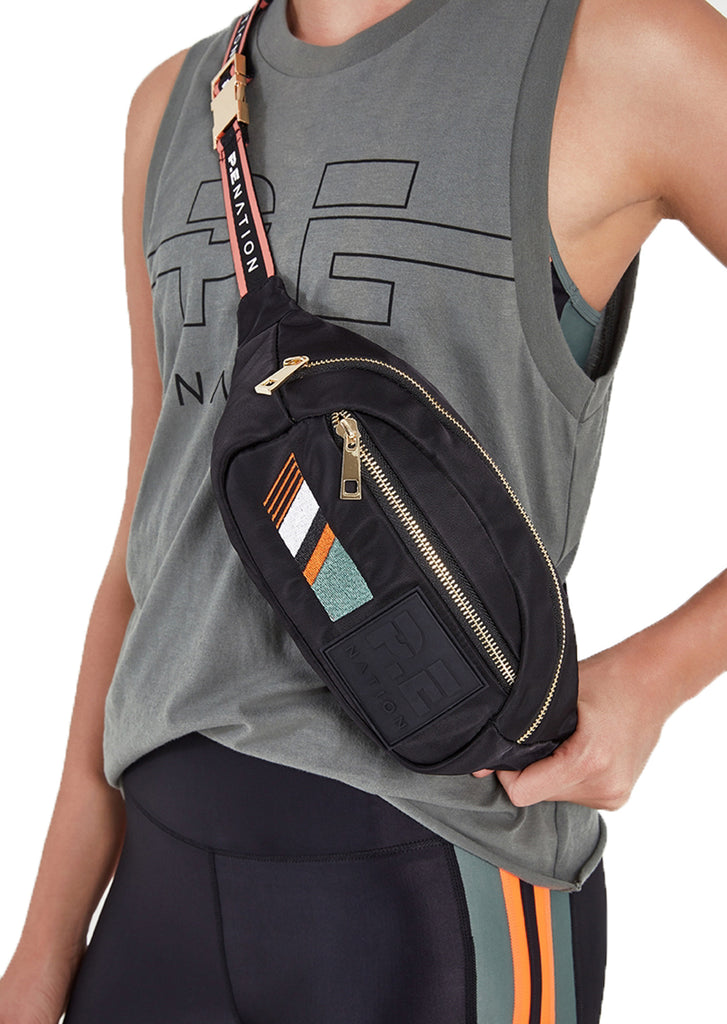 THE LAY BACK BUMBAG - BLACK