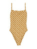SUNFLOWER ONE PIECE - POLKA DOT