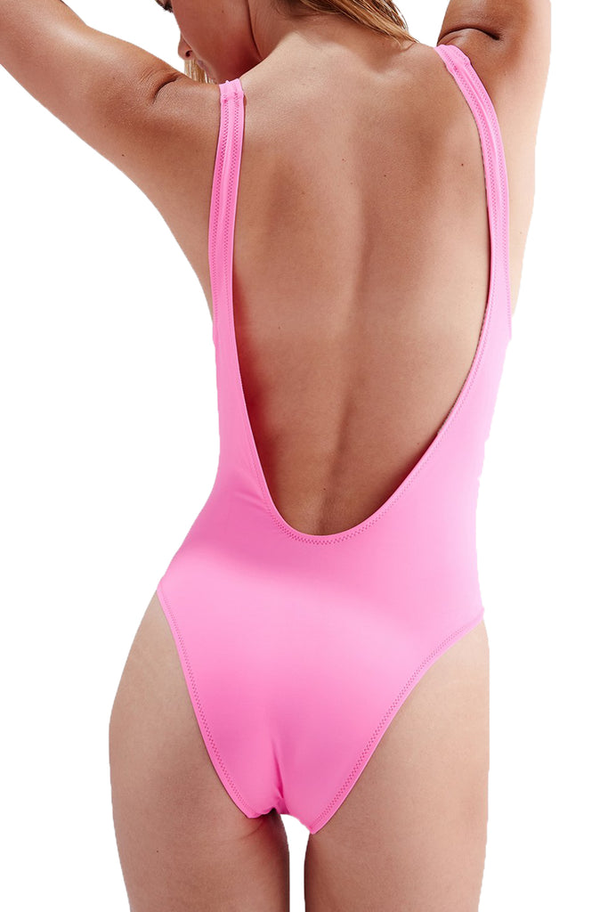 THE MICHELLE ONE PIECE - MALIBU PINK