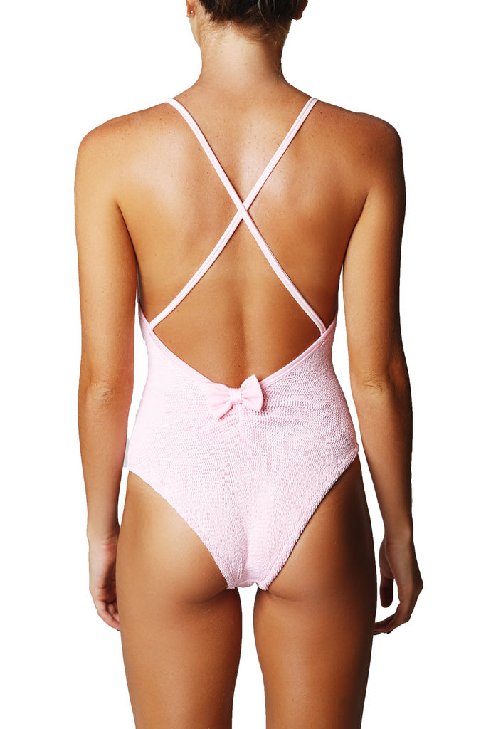 Bette Bow ONE PIECE - BABY PINK