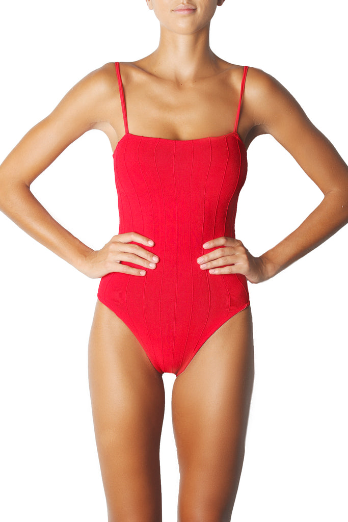 MARIA ONE PIECE - RED