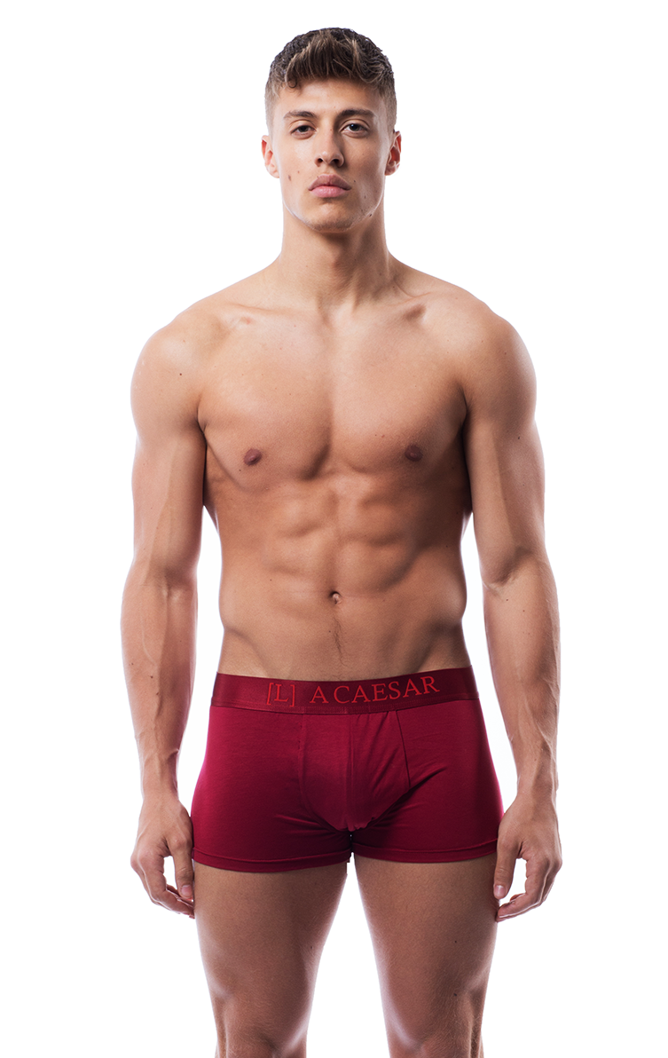 Classic boxers in red