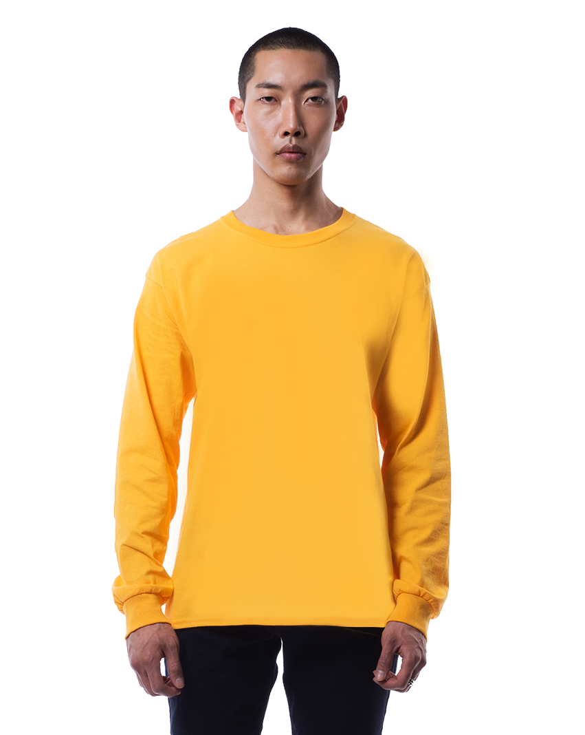 Nars embroidered monogram sweater in saffron