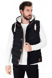 Hooded Slim Fit Vest