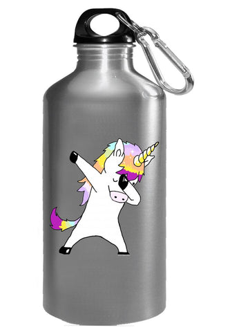 Dabbing Unicorn In a Classic Dab Pose Shirt Gift Idea - Water Bottle