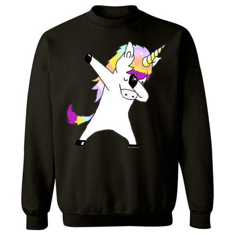 Dabbing Unicorn In a Classic Dab Pose Shirt Gift Idea - Sweatshirt