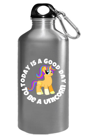 Today Is A good Day To Be A Unicorn Gift Idea for Girls Boys - Water Bottle