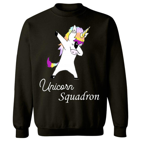 Dabbing Unicorn In Dab Dance Pose Shirt Gift Idea - Sweatshirt
