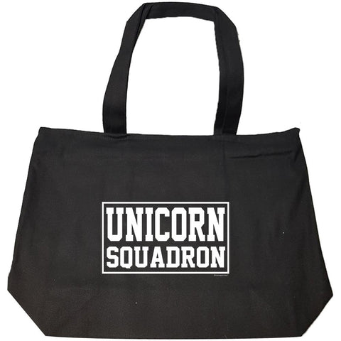 Unicorn Squadron Shirt - Perfect Surprise Present Ideas - Fashion Zip Tote Bag