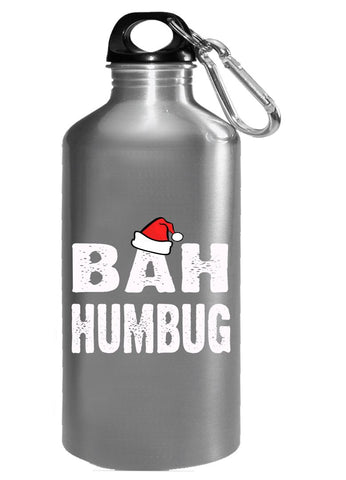 Bah Humbug Cheap Ugly Christmas Xmas Sweater - Water Bottle
