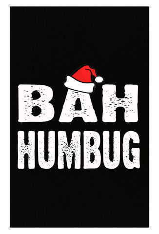 Bah Humbug Cheap Ugly Christmas Xmas Sweater - Poster