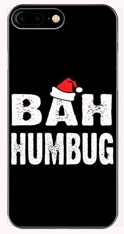 Bah Humbug Cheap Ugly Christmas Xmas Sweater - Phone Case for iPhone 6+, 6S+, 7+, 8+