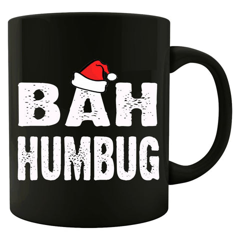 Bah Humbug Cheap Ugly Christmas Xmas Sweater - Colored Mug
