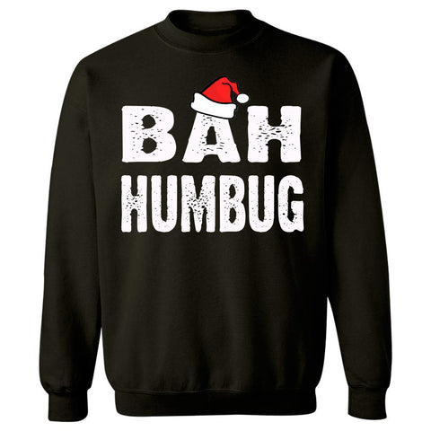 Bah Humbug Cheap Ugly Christmas Xmas Sweater - Sweatshirt