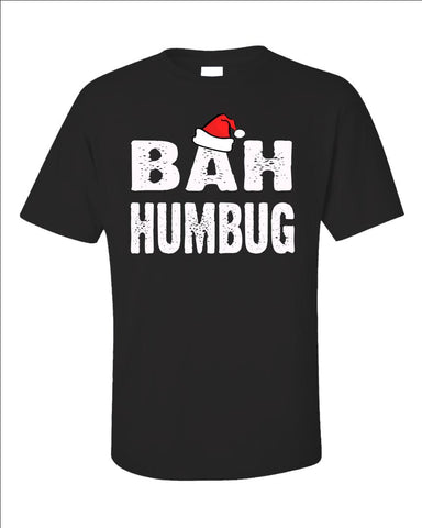 Bah Humbug Cheap Ugly Christmas Xmas Sweater - Unisex T-Shirt