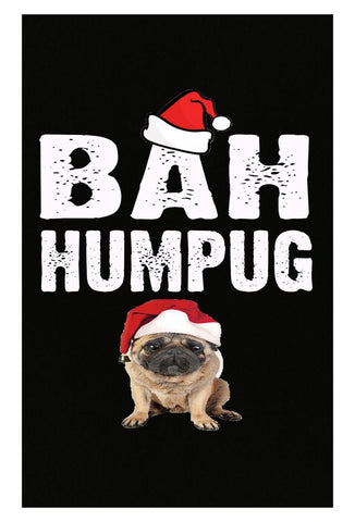 Bah Humpug Cheap Ugly Christmas Xmas Sweater - Poster