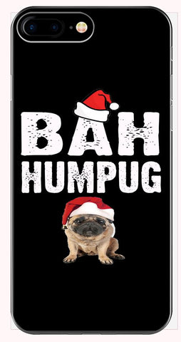 Bah Humpug Cheap Ugly Christmas Xmas Sweater - Phone Case for iPhone 6+, 6S+, 7+, 8+