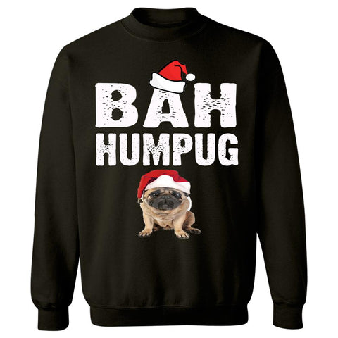Bah Humpug Cheap Ugly Christmas Xmas Sweater - Sweatshirt