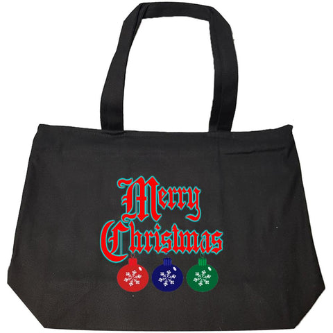 Merry Christmas Ugly Cheap Xmas Sweater - Fashion Zip Tote Bag