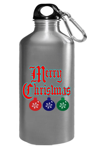 Merry Christmas Ugly Cheap Xmas Sweater - Water Bottle